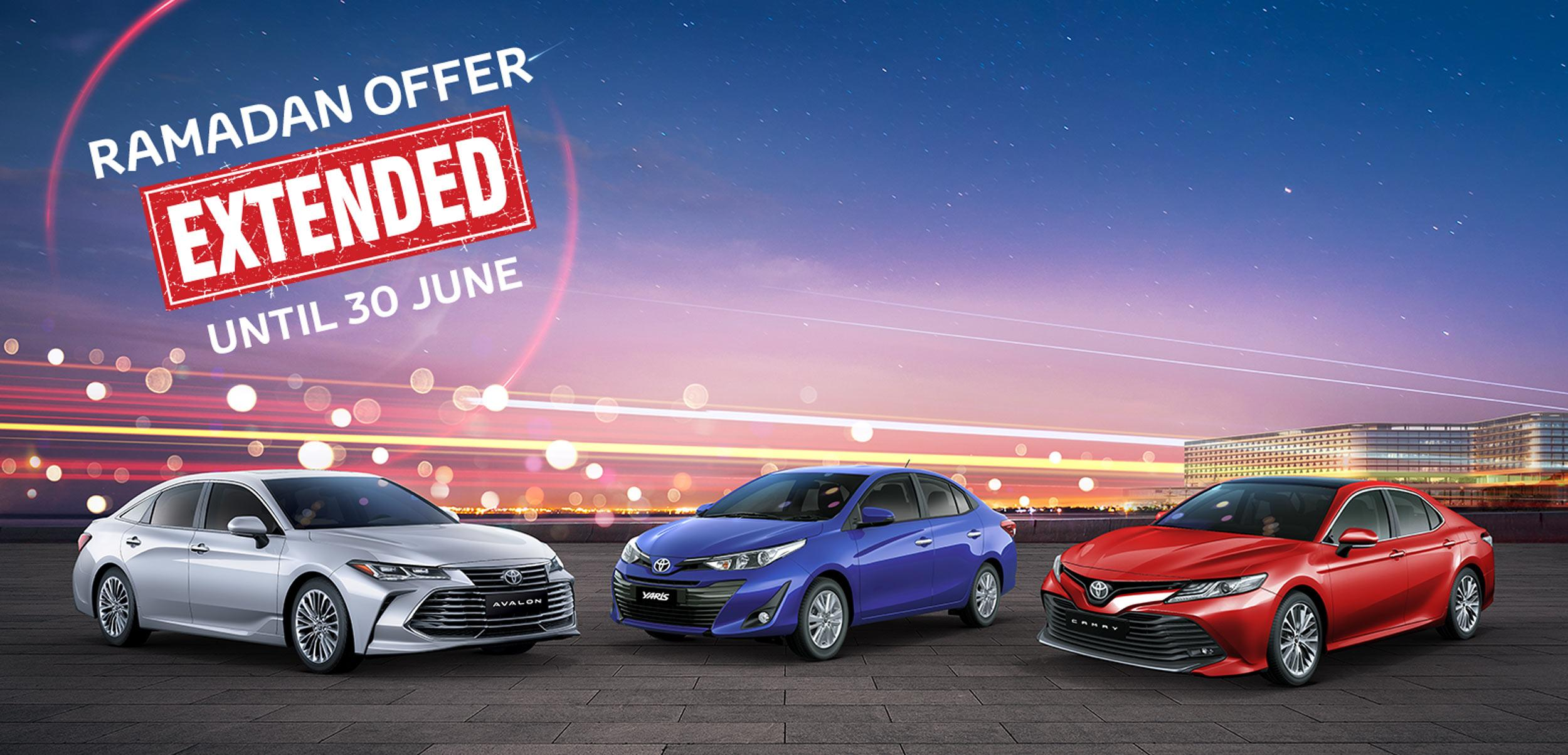 Ramadan offers from Toyota Bahrain ( Extension )